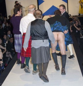 9th Annual Dressed To Kilt Charity Fashion Show - Runway