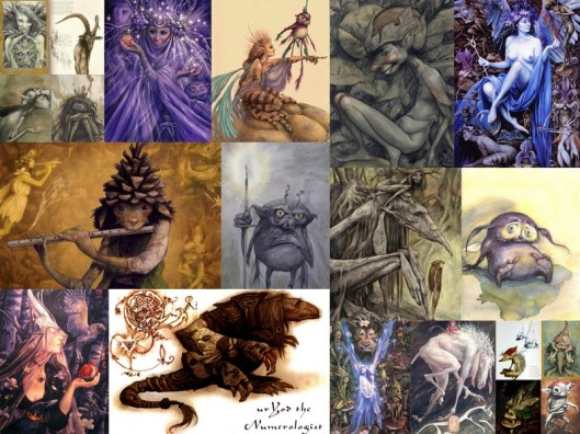 Brian Froud's Faeries