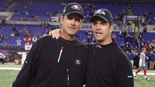 Jim & John Harbaugh