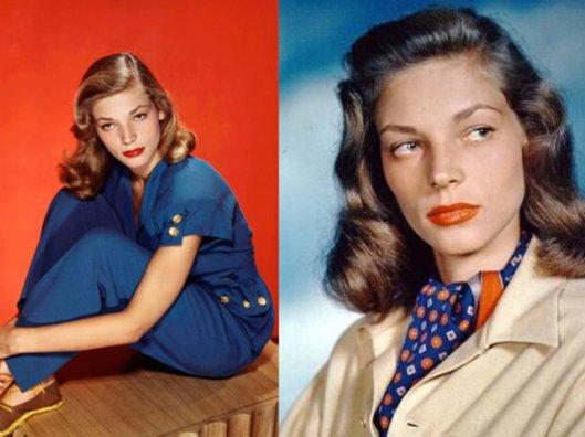 I am Lauren Bacall