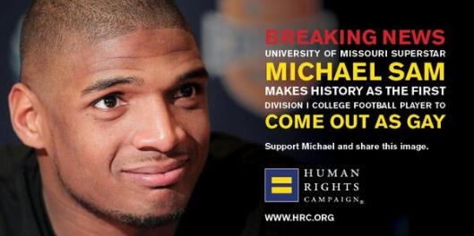 Michael Sam Comes Out