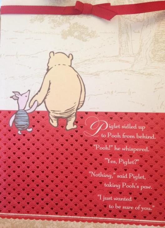 Pooh & Piglet Love