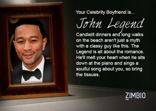 My Celebrity Boyfriend is John Legend
