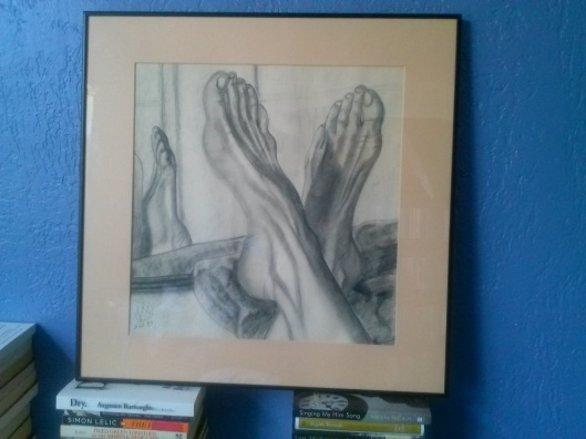 Feet, as Art. Feet...is art?
